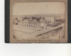 PHOTO SUR CARTON MIRECOURT AVENT 1900  FORMAT 13X20  LA GARE - Frankreich