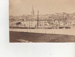 PHOTO SUR CARTON MIRECOURT AVENT 1900  FORMAT 11X16 FAUBOURGS ST VINCENT - Frankreich