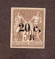 Réunion N°10 N* TB  Cote 100 Euros !!! - Unused Stamps
