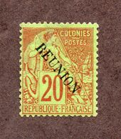 Réunion N°23 N* TB  Cote 50 Euros !!! - Nuovi