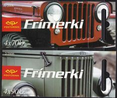 IC177 – ISLANDE - ICELAND - BOOKLETS – 2006 – VINTAGE CARS - Y&T # C1051/52 MNH 22 € - Carnets