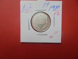 Albert 1er. 1 Franc 1911 FR ARGENT (A.5) - 07. 1 Franco