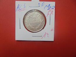 Albert 1er. 2 Francs 1910 FR ARGENT (A.5) - 1909-1934: Alberto I