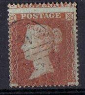 GRANDE-BRETAGNE ( POSTE ) : Y&T N°  26   TIMBRE  BIEN  OBLITERE , A  SAISIR .RDA - 1840-1901 (Victoria)