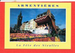 59 ARMENTIERES Cp Animée La Fete Des Nieulles  * Format 15 Cm X 10.5 Cm - Armentieres