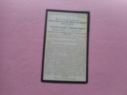 D.P.-DOKTER -ALBERT-J.F.M.VAN BOGAERT °HAMME 19-9-1883+ALDAAR 4-1-1917 - Religion & Esotérisme