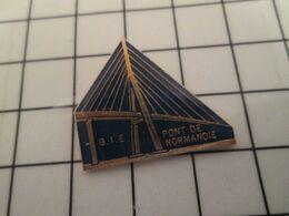715a Pins Pin's / Rare & Belle Qualité THEME MARQUES / GIE PONT DE NORMANDIE - Marche