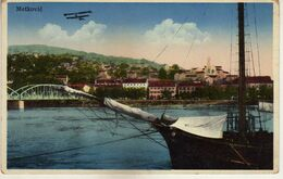 Croatia - Metkovic 1938 Plane,Bridge,Ship,Arabic Script - Croatia