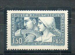 N° 252* AVEC CHARNIERE PROPRE COTE 180 E Net 35 E - Unused Stamps