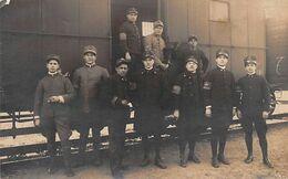 """1432 """"GRUPPO- GENIO FERROVIERI - FOTO. ORIGINALE 1922 CIRCA"""" - War, Military"""