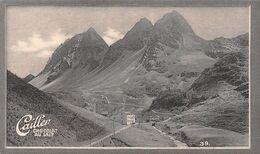 Weissenstein Route Albula Piz Uertsch - Grisons - Graubünden  Caille 39 - Chocolat Au Lait - Texte Au Dos  (~10 X 6 Cm) - Nestlé