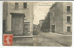 St- PAULIEN (43) PLACE DE LA FONTAINE ( ETAT VOIR SCANS - Taches-) - Andere Gemeenten