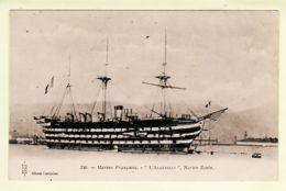 Trp112 ALGESIRAS Superbe 3 Ponts! Navire Ecole Navale Marine Militaire Française 1900s  COUTURIER ROYER 340 Cpbat - Krieg