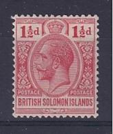 British Solomon Is: 1922/31   KGV    SG42   1½d        MH - British Solomon Islands (...-1978)