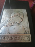 TABLEAU GRAVEUR F.RASUMNY- VIRGO ORA PRO NOBIS - Autres Collections