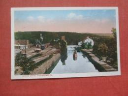 Lehigh Canal Allentown   Pennsylvania      Ref 4343 - Vereinigte Staaten