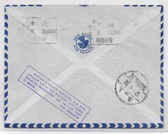 1947 - ENVELOPPE VOYAGE D'ETUDES VOL SAÏGON => SHANGHAI (CHINE) AIR FRANCE EXPEDIEE De PARIS - 1927-1959 Brieven & Documenten