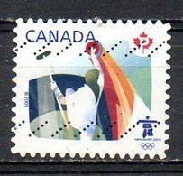 CANADA. Timbre Oblitéré De 2009. Curling Aux J.O. De Vancouver. - Winter 2010: Vancouver