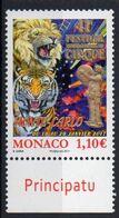 Monaco 2017. International Circus Festival. MNH - Unused Stamps