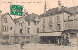 28 116 CHARTRES Vieilles Maisons Rue De La Pöele Percée - Chartres