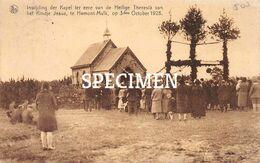 Inwijding Der Kapel Ter Eere Van De Heilige Theresia Van Het Kindje Jesus 1928 - Mulk Hamont-Achel - Hamont-Achel