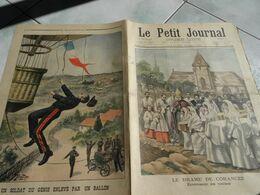 Le Petit Journal 1901 Le Crime De Corancez  Enterrement Des 5 Victimes Sucy En Brie Incendie Ballon Aérostation Accident - Le Petit Journal