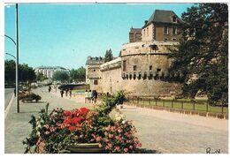 CPSM NANTES Chateau - Nantes