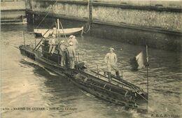 """SOUS MARINS   """" La Loutre  """" - Submarines"""
