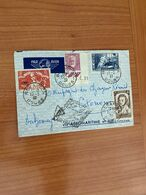 Lettre De BESANCON POUR DAHOMEY  1937 - Via Aéromaritime Et Air France  ( Voire Scan ) Port Offert - Luftpost