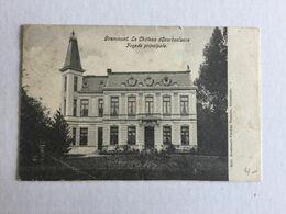 GERAARDSBERGEN  1905  GRAMMONT LE CHATEAU D' OVERBOELAERE  FACADE PRINCIPALE - Geraardsbergen