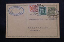 TCHÉCOSLOVAQUIE - Entier Postal + Compléments De Tannwald Pour Reinerz En 1928 - L 71349 - Postales