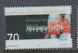 CHIPRE TURCO, USED STAMP, OBLITERÉ, SELLO USADO. - Cipro (Turchia)