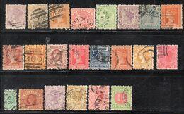 Q350 - VICTORIA , Piccolo Insieme Di Valori Usati  (M2200) - 1850-1912 Victoria