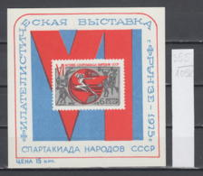 105K355 / USSR 1975 Souvenir Sheet - Frunze Bishkek 75 Sport Basketball  Wrestling Gymnastics Weightlifting , Russia - Blocks & Sheetlets & Panes