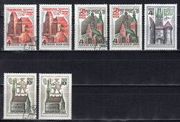 1973 USSR Mi# 4195-98 Historical And Architectural Monuments Of The Baltic Republics MNH ** P58 - Nuevos