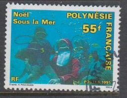 POLINESIA FRANCESA, USED STAMP, OBLITERÉ, SELLO USADO. - Polinesia Francese