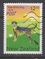 NUEVA ZELANDA, USED STAMP, OBLITERÉ, SELLO USADO. - Nuova Zelanda