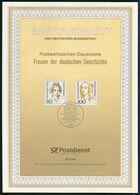 BRD - 1994 ETB 33/1994 # - Mi 1755 / 1756 - 80-100Pf Frauen XV - FDC: Panes