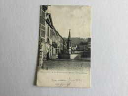 GERAARDSBERGEN   1904  GRAMMONT  LA FONTAINE DU MARBOL - GRAND PLACE - Geraardsbergen
