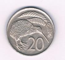 20 CENTS 1973 NIEUW  ZEELAND /6871/ - Nuova Zelanda