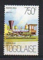Atlas 0-8-0 - Locomotive Stamp (Togo 2013) - MNH (1W0130) - Treni