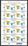 PORTUGAL (Madeira) - EUROPA 2015 - Old Toys - Miniature Sheet - 2015