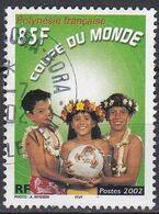 Polynésie Française  TUC 2002 YT 668 Oblitéré - Usados