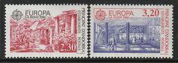 ANDORRE - N°388/9 ** (1990) Europa - Unused Stamps
