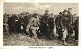 GEFANGENE BELGISCHE TRUPPEN. 1914/15 WWI WWICOLLECTION - Oorlog 1914-18