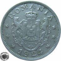LaZooRo: Romania 1 Leu 1924 P XF - Romania