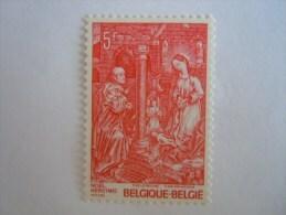 België Belgique Belgium 1977 Kersmis Noël Retable De Roger Van Der Weyden Yv 1869 COB 1874 MNH ** - Ongebruikt