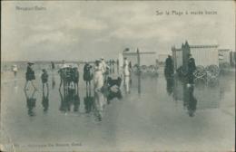 BE NIEUPORT / Sur La Plage A Maree Basse / - Nieuwpoort