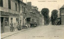 FOUCARMONT , Route De Blangy - Guerre