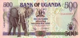 UGANDA P. 35a 500 S 1996 UNC - Oeganda